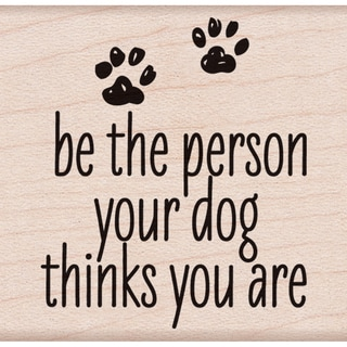 """Hero Arts Mounted Rubber Stamp 2""""x2""""-Be The Person"""