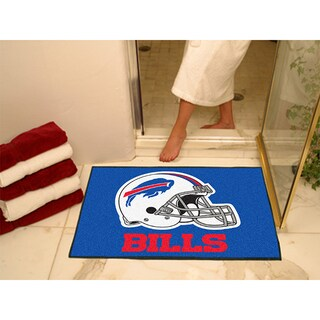 Fanmats Buffalo Bills Blue Nylon Allstar Rug (2'8 x 3'8)