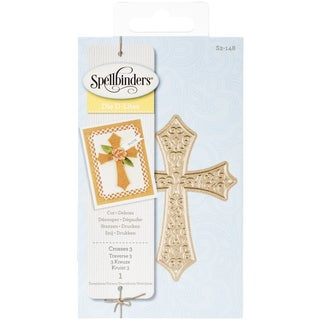 Spellbinders Shapeabilities Die D-Lites-Crosses 3