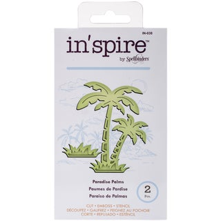 Spellbinders Shapeabilities In'spire Die-Paradise Palms