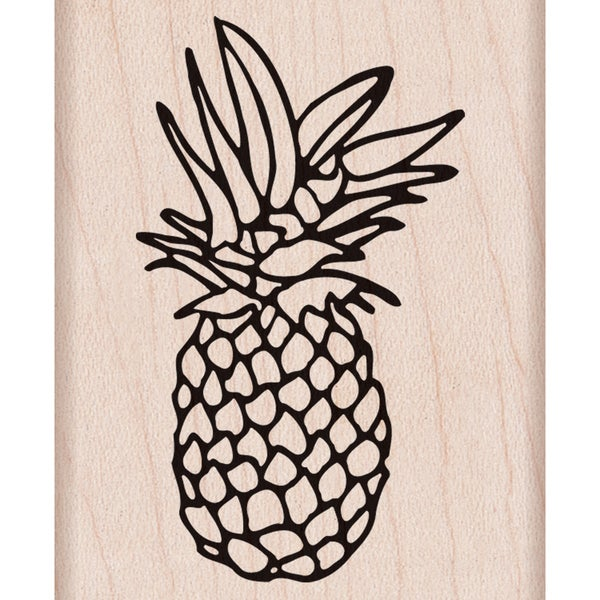 "Hero Arts Mounted Rubber Stamp 2""X2.5"" -Pineapple 15152094"