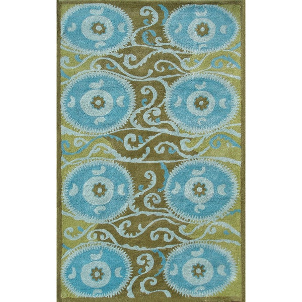 SUZANI TILE BLUE