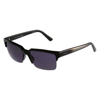 Gucci Women's 3710/S Plastic Rectangular Sunglasses
