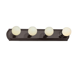 Cambridge 4-Light Rubbed Oil Bronze 24 in. Bath Vanity