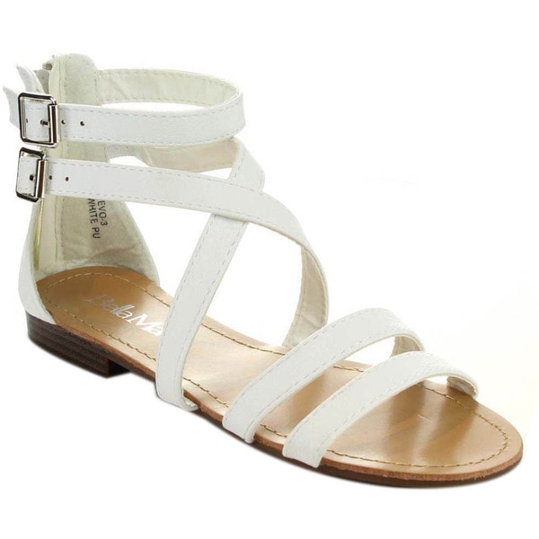 Bella Marie Tevo-3 Women's Multi Ankle Strap Casual Sandals