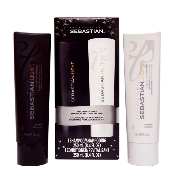 Sebastian Light Shampoo & Conditioner 8.4oz Duo