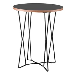 Black Network End Table