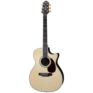 Crafter TCO-35 Electric Acoustic Guitar with Built-in Tuner and Gig Bag