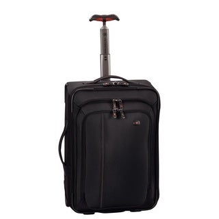 Victorinox Werks Traveler 4.0 Black 20-inch Carry-on Upright Suitcase