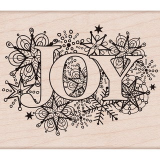 "Hero Arts Mounted Rubber Stamp 2.75""x3.25""-Joy Burst"