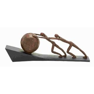 Solid Sportsmen Sculpture