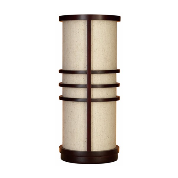 Varnished Wooden Table Lamp