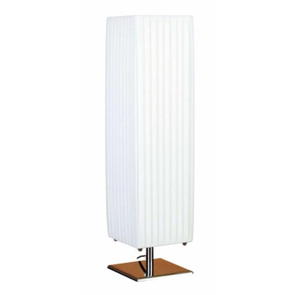 White Metal Table Lamp