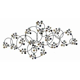 Metal/ Ceramic Bead Wall Decor