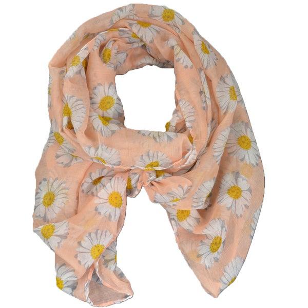 Daisy Print Scarf