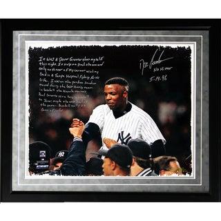 Doc Gooden Facsimile 'Yankees No-Hitter' Framed Metallic 16x20 Story Photo