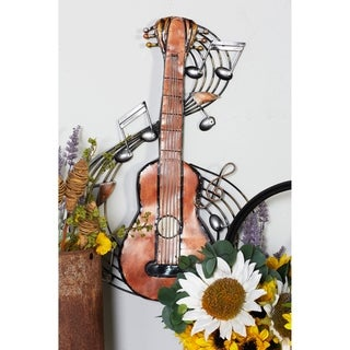 Metal Music Wall Plaque