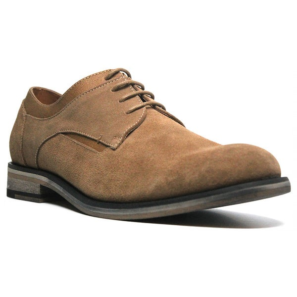 X-Ray Men's 'Broome' Suede Plain-toe Oxford Shoes (As Is Item)