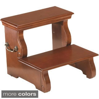 Wooden 2-stair Step Stool