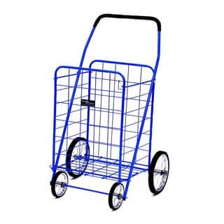 Jumbo Shopping Cart Blue