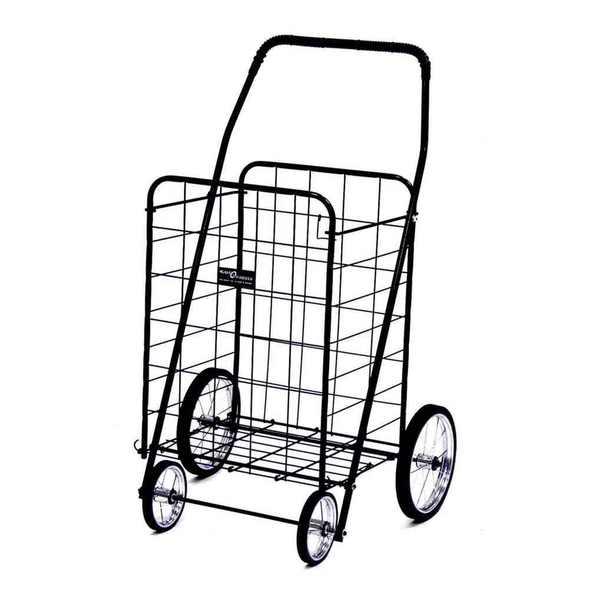 Jumbo Shopping Cart Black