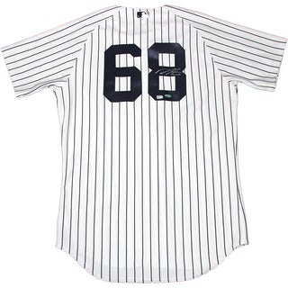 Dellin Betances Signed New York Yankees Authentic Pinstripe Jersey (MLB Auth)