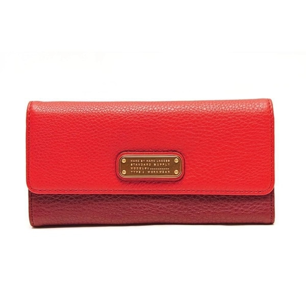 Marc By Marc Jacobs Q-Long  Leather Wallet 15154411
