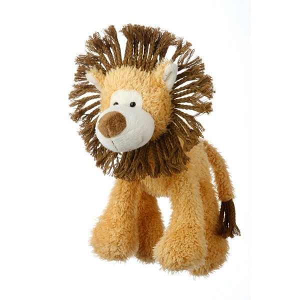 "Multipet Mane Event 11"" Lion Plush Dog Toy"