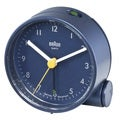 Braun Classic Quiet German Quartz Analog Blue Clock