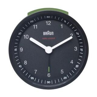 Braun Classic Quiet German Precision Black Alarm Clock