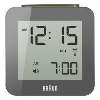 Braun Digital LCD Grey Alarm Clock 009