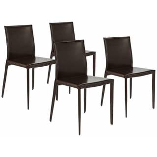 Venue Design Chocolate Dining Chairs (Set of 4)