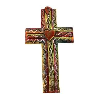 Colored Metal Cross Medium