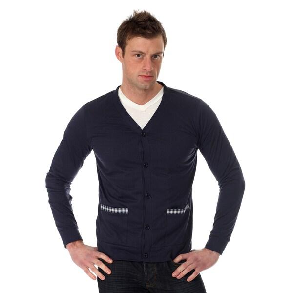 Filthy Etiquette Men's Solid Cardigan
