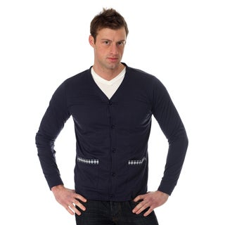 Filthy Etiquette Men's Solid Cardigan
