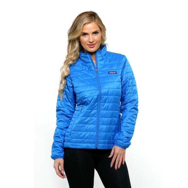 Patagonia Women's Nano Puff Andes Blue Jacket