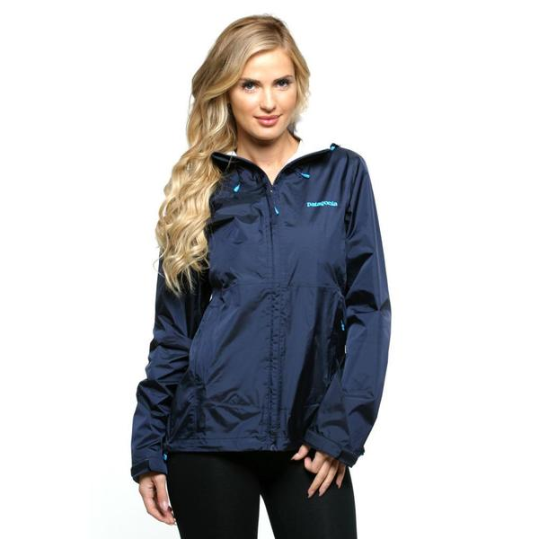 Patagonia Women's Torrentshell Navy Jacket