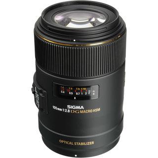 Sigma 105mm f/2.8 EX DG OS HSM Macro Lens for Nikon AF