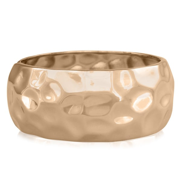 Passiana Hammered Rose Cuff