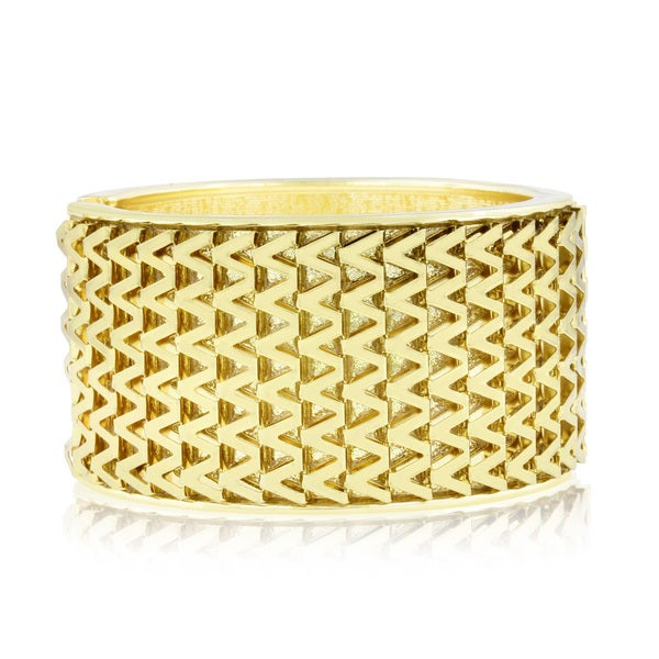Passiana Shimmering Gold Cuff