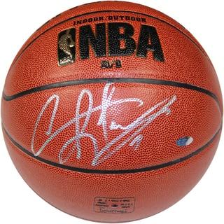 Dennis Rodman Signed Brown I/O Basketball