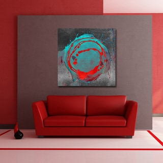 Ready2HangArt 'Inkd XXIV' Canvas Art