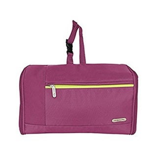 Travelon Berry Purple Flat-Out Hanging Toiletry Kit
