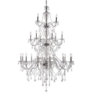 Cambridge 21-light Polished Chrome 45.75-inch Chandelier
