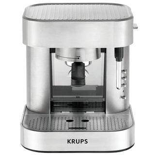 Krups XP602550 Stainless Steel Definitive Series Automatic Pump Espresso Maker (Refurbished)