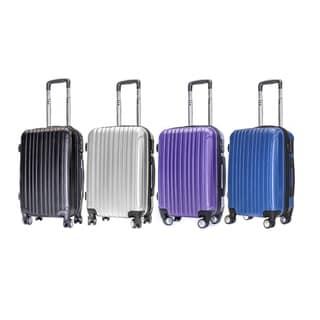 English Laundry 21-inch Carry On Hardside Spinner Upright Suitcase