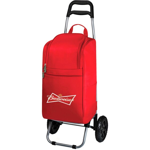 Cart Cooler - Red (Budweiser) Digital Print