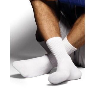 Hanes Classics Men's ComfortSoft Crew Socks 6-Pack