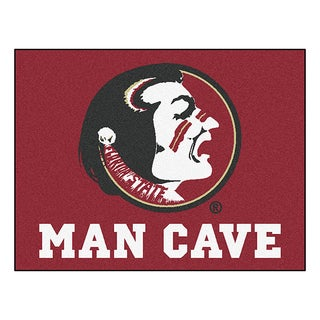 Fanmats Florida State University Red Nylon Man Cave Allstar Rug (2'8 x 3'8)