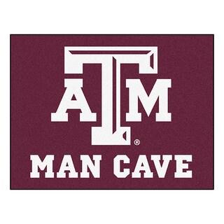 Fanmats Texas A&M University Burgundy Nylon Man Cave Allstar Rug (2'8 x 3'8)